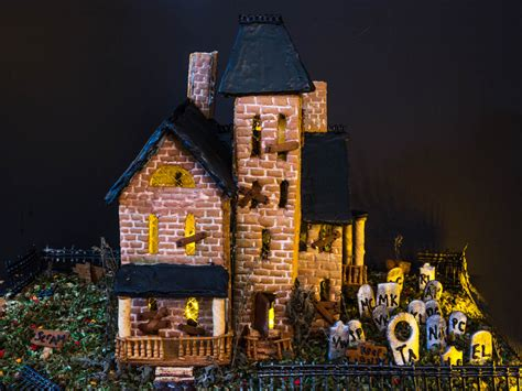 gingerbread haunted house template bravetart s house of horror how to make a spooky