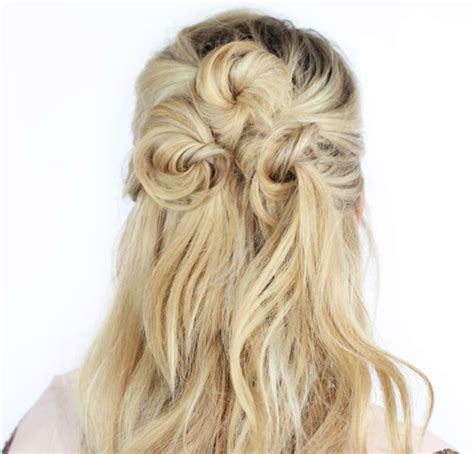 Half Up Hairstyles by Easy Half Up Half Hairstyles To Rock For Any