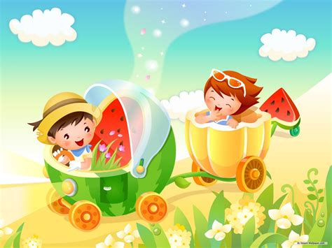 colorful cartoon wallpapers  kids backgrounds  hd