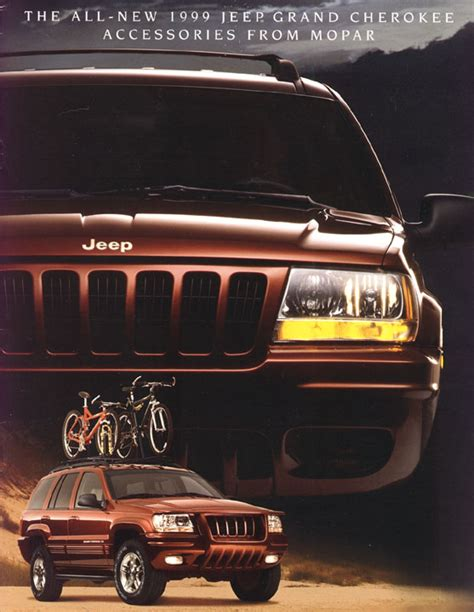 jeep 1999 accessories jeep grand wj brochures and manuals part 1