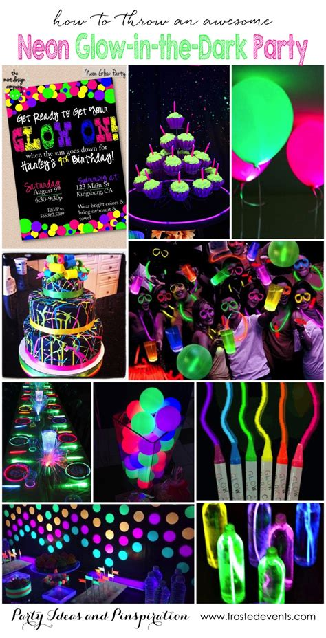 Amazing Entertainment Ideas For Company Christmas Party #5: Neon-glow-in-the-dark-party-ideas-inspiration-kids-teen-birthday-party-frostedeventscom.jpg?resize=1140%2C2233