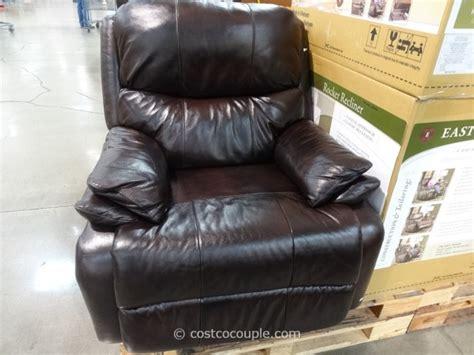 leather swivel recliner costco woodworth easton leather rocker recliner