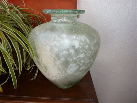 Large Green Vase Antiques Atlas Vintage Large Green Vase