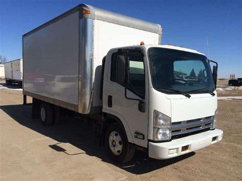 truck van 2009 isuzu npr box truck dry van for sale 146 068 miles