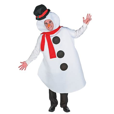 adult snowman costume oriental trading