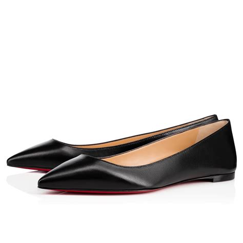 flat louboutin shoes christian louboutin ballalla smooth leather sole
