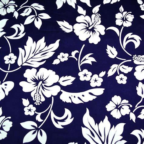 Hawaiian Print Upholstery Fabric by Traditional Hawaiian Print Cotton Fabric White Kokio On