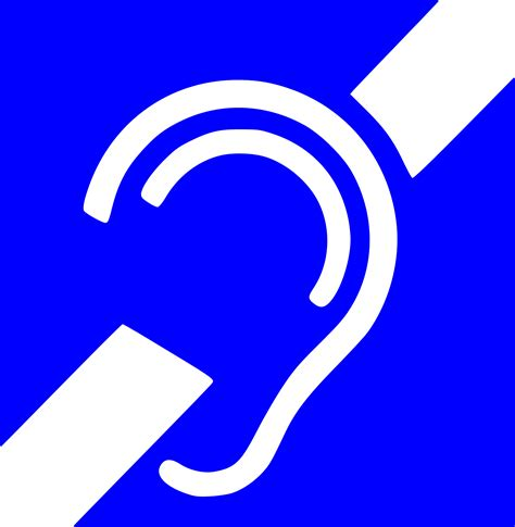 With The Deaf Deaf Symbol Clipart Best
