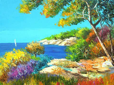 Landscape Pictures Painting 油画风景 Ps123 Net