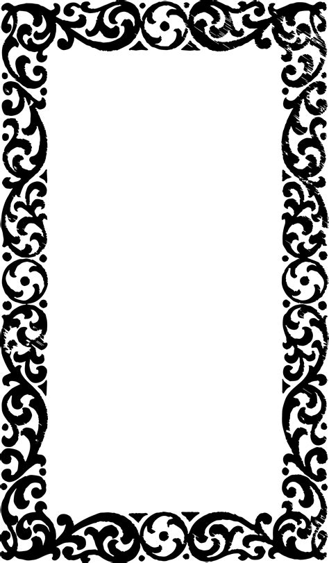 frame pattern free vgosn free vector art clip art vintage border graphics