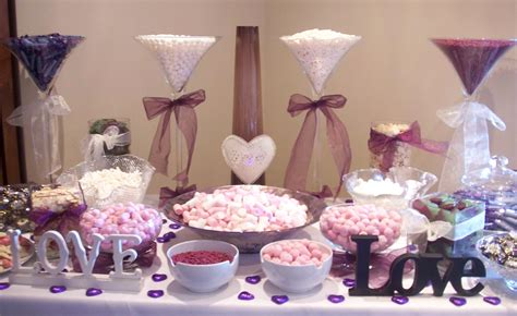 Wedding Candy Table Decorations My Fairytale Day Pinterest