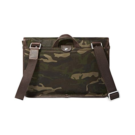 Fossil Perry East West Messenger Bag by Fossil Mercer East West Camo Messenger In Green For
