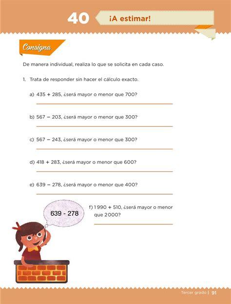 libro de desafos matemticos 6 grado 2016 desaf 237 os matem 225 ticos libro para el alumno tercer grado
