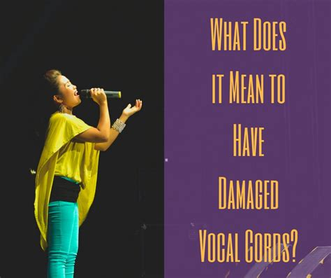 what does being sectioned mean what does it mean to have damaged vocal cords healdove