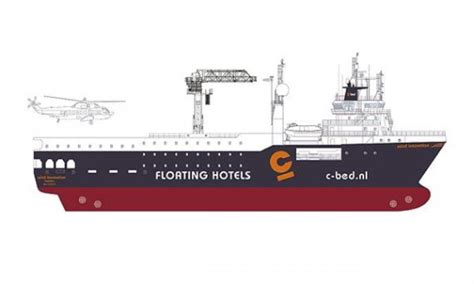 c bed c bed presents new offshore wind hotel vessel offshore wind