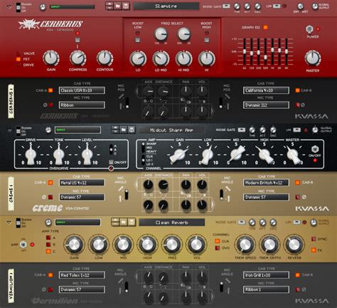 Reason Rack Extensions by Kvr Kuassa Releases Cerberus Bass Rack Extension And