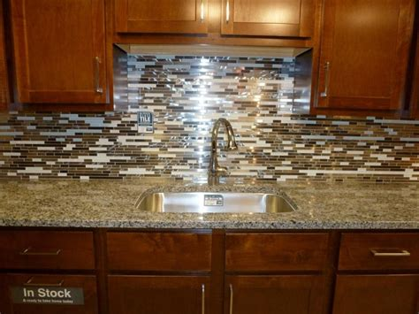 Kitchen Backsplash Glass Tile Ideas Easy Backsplash Ideas For Granite Countertops Tedxumkc Decoration