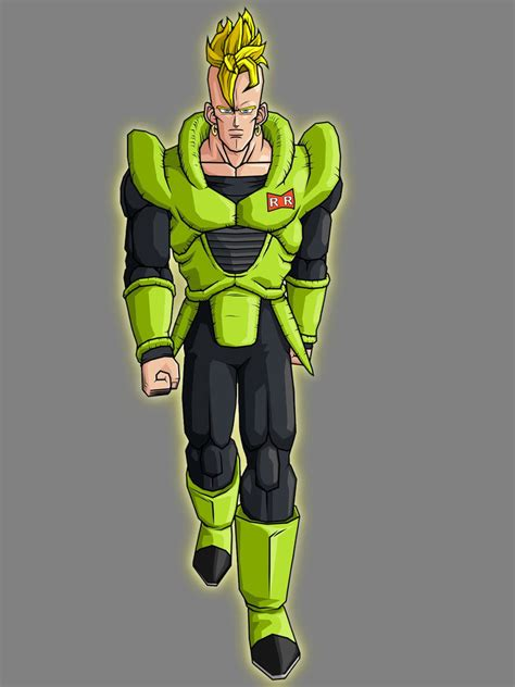 z android 16 image saiyan android 16 by azanmalik d2wi08g jpg wiki fandom powered by
