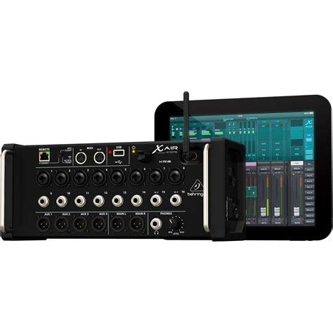 Behringer 16 Channel Digital Mixer behringer x air xr16 16 channel digital mixer nearly new at gear4music