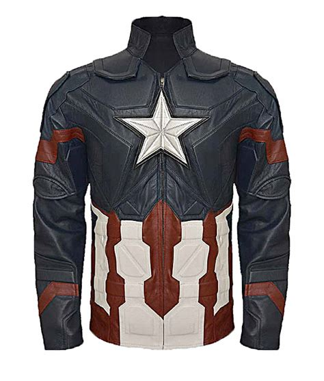 Vest Hoodie Captain America Civil War steve rogers captain america civil war jacket