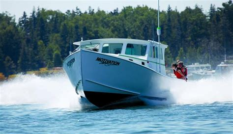 maine fishing boat builders maine boat builder finds big business in northern bay 36