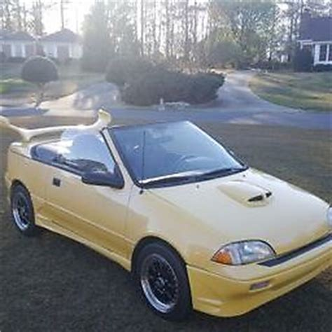custom, one of a kind, 1991 convertible geo metro for sale