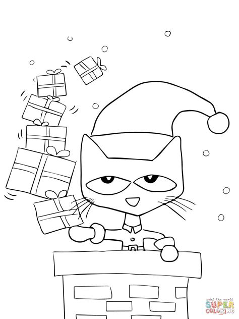 pete the cat coloring page 8 best images of cat printables pete the cat