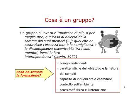 di lavoro gruppi di lavoro