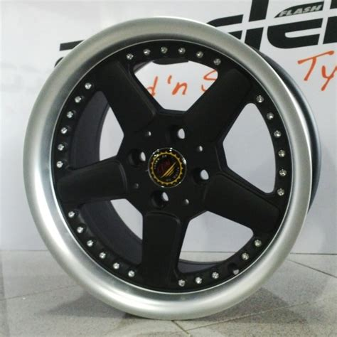 Jual Velg Mobil Roti Ring15 jual velg mobil ring 15 dy wheels pcd 4x100 lebar 8 et 25 murah di surabaya flash auto modified