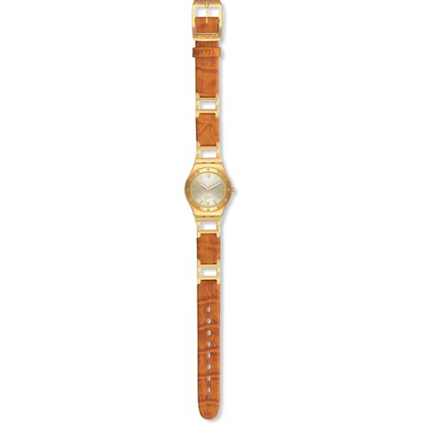swatch ysg123 classic brown