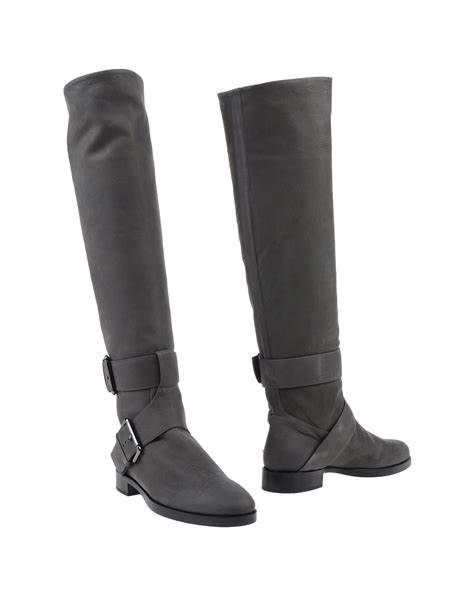 lead boots hardy boots in black lyst