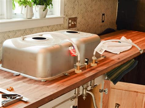 Kitchen Island With Chopping Block Top by Do It Yourself Butcher Block Kitchen Countertop Hgtv