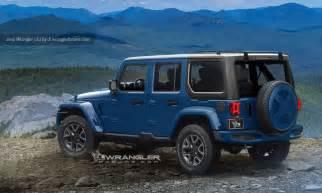 2018 jeep wrangler redesign release date diesel