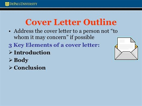elements of a cover letter key elements of a cover letter