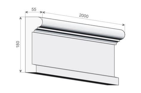 kunststoff gesimse preise fassadenverkleidung le17 fassadenprofil aus styropr