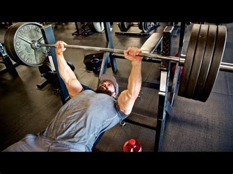 bench press everyday increase your bench press youtube