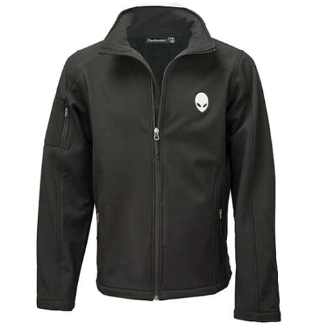 alienware slim fit jacket l 300 g m 178 100 polyester black gaming dell canada