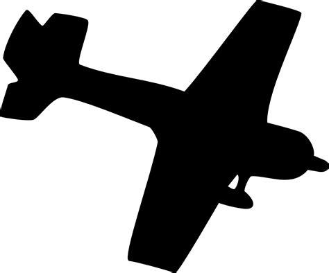 onlinelabels clip art silhouette plane