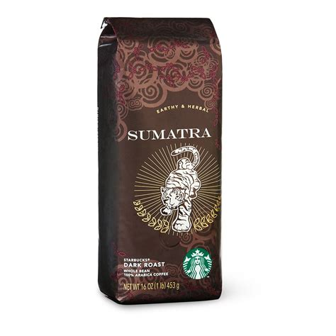 Coffee Bean Starbucks starbucks sumatra roast whole bean coffee