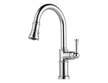 brizo 62525lf artesso two handle bridge kitchen faucet brizo 63225lf artesso single handle articulating arm