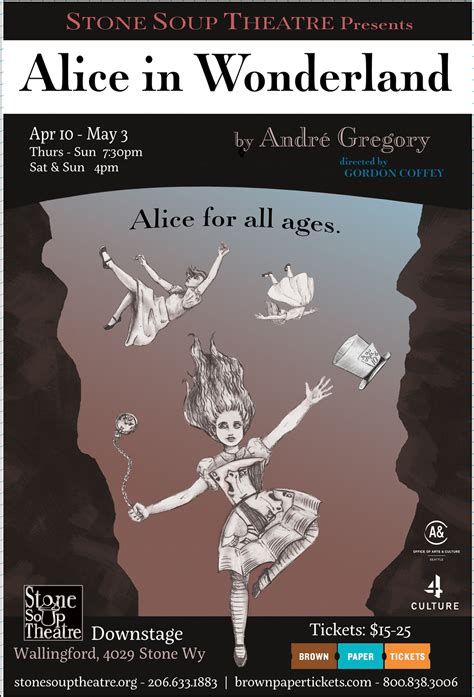 andre gregory alice in wonderland alice in wonderland created by the manhattan project under