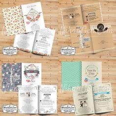 Undangan Custom Kertas Paper 260gsm detail produk undangan pernikahan unik bahan mdf