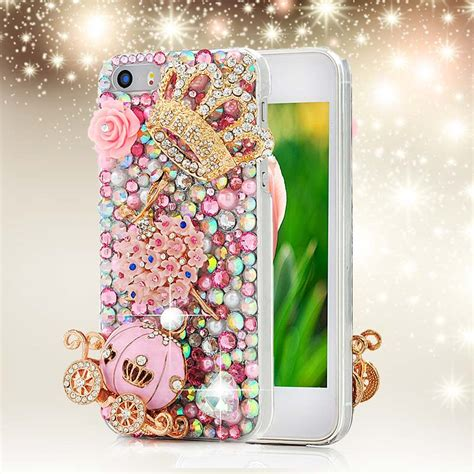 Handmade Iphone 4 Cases - 3d handmade rhinestone phone cover