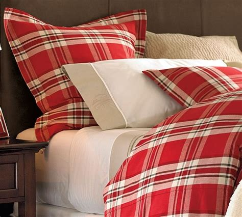 macallan plaid duvet cover sham traditional duvet covers and duvet sets by pottery barn
