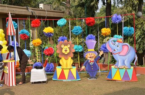 circus themed games first birthday carnival party with lots of great ideas via