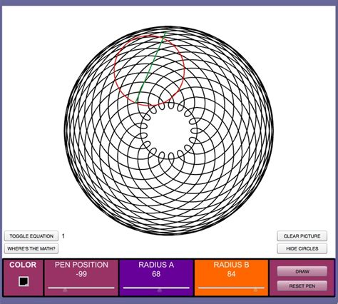 spirograph pattern generator spirograph generator fun corel draw pinterest