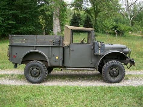 1953 dodge power wagon m37 4x4 vehicle with winch
