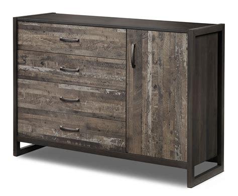 Rustic Bedroom Furniture Canada by Hudson Dresser Rustic Brown S