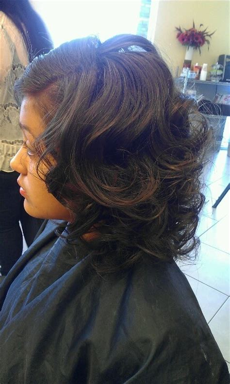 roller wrap on bob hair 1000 images about asymmetrical haircuts and more on