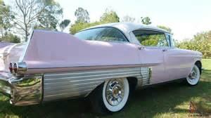 1957 Pink Cadillac 1957 Cadillac Fleetwood Sedan In Urangan Qld